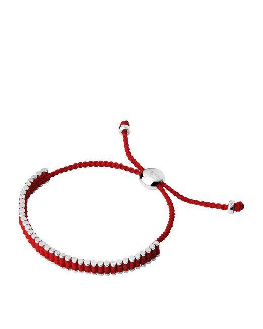 Links of London - Red Mini Friendship Bracelet - Lyst
