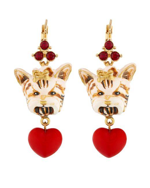 Dolce & Gabbana | Multicolor Dog Earrings | Lyst