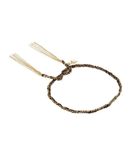 Carolina Bucci   Black Health Charm Lucky Bracelet   Lyst