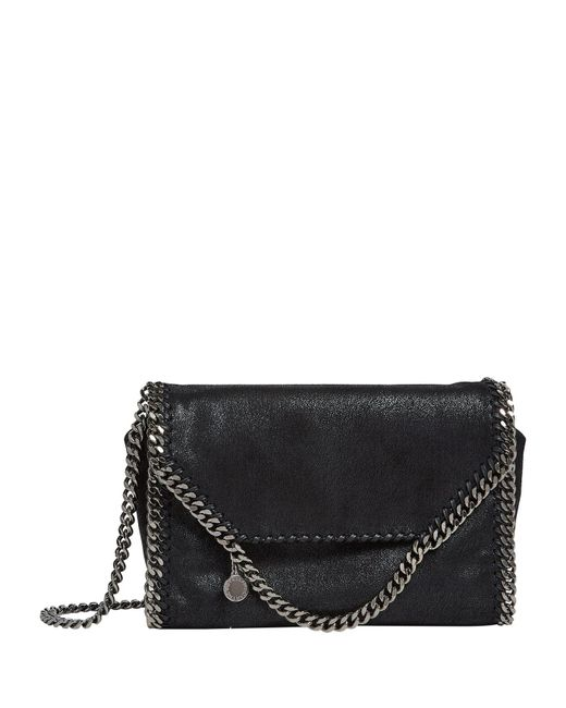 e188282943 Lyst - Stella McCartney Falabella Shoulder Bag in Black - Save 19%
