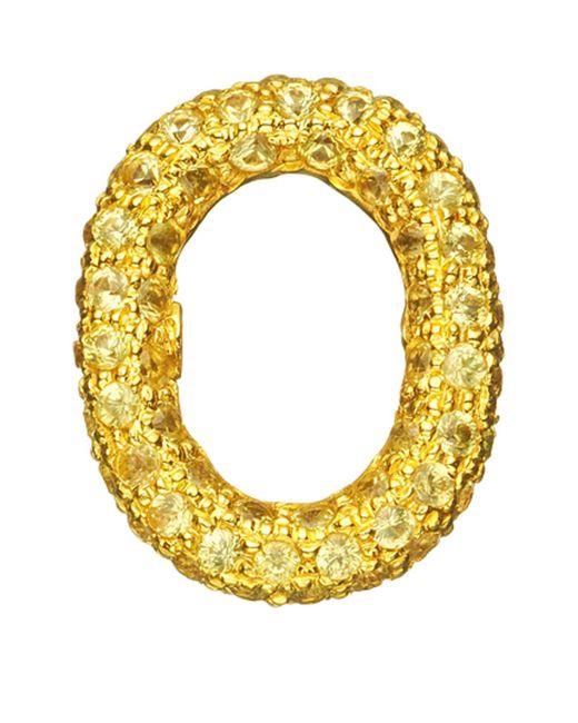 Carolina Bucci - Yellow Sapphire Link Charm - Lyst