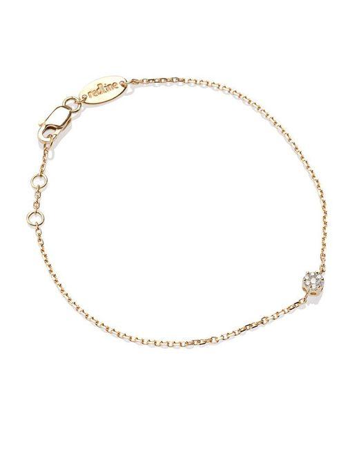 RedLine | Yellow Diamond Illusion Chain Bracelet | Lyst