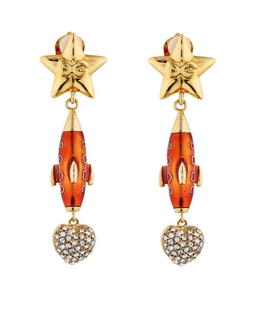 Dolce & Gabbana | Multicolor Missile Earrings | Lyst