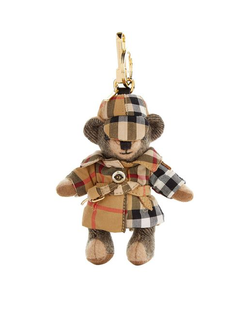 Burberry - Brown Thomas Bear Keyring - Lyst