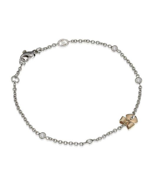 Theo Fennell | Metallic Bow Tryst Bracelet | Lyst