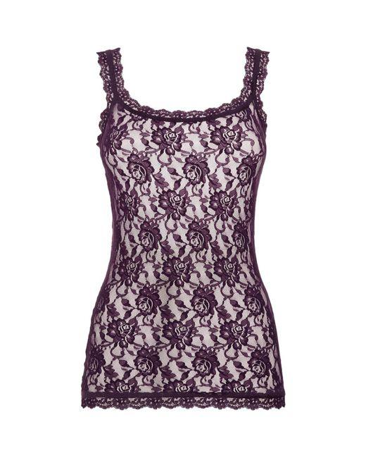 Hanky Panky | Purple Signature Lace Camisole | Lyst