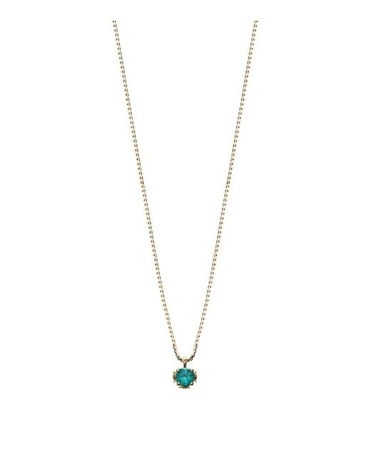 Theo Fennell | Green Emerald Chinese Blossom Bud Pendant | Lyst