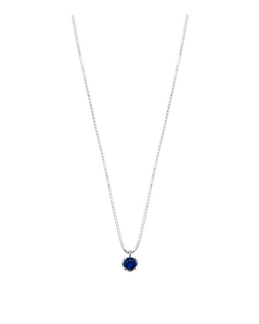 Theo Fennell | Blue Sapphire Chinese Blossom Bud Pendant | Lyst