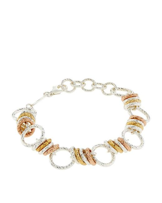 Links of London | Metallic Aurora Large Link Bracelet | Lyst