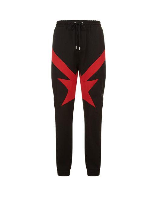 Givenchy - Black Star Print Sweatpants - Lyst