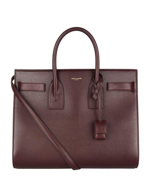 Saint Laurent - Multicolor Medium Smooth Leather Sac De Jour Tote - Lyst