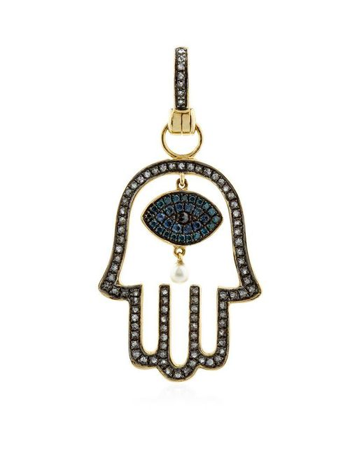 Annoushka | Blue Mythology Hand Of Fatima Amulet | Lyst