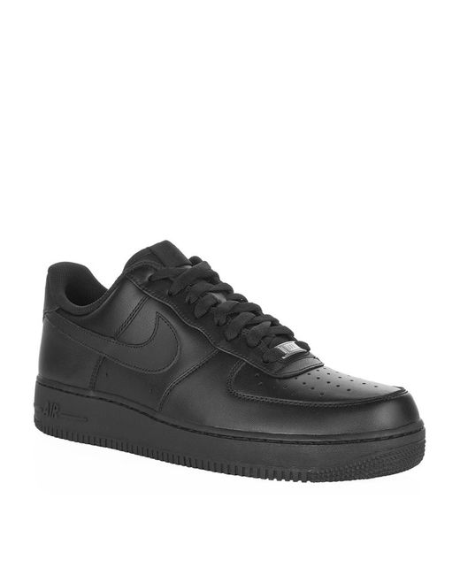 Nike | Black Nike Air Force 1 07 Trainers for Men | Lyst
