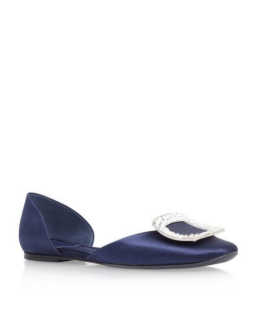 Roger Vivier | Blue Chips Patent Ballerina Flats | Lyst
