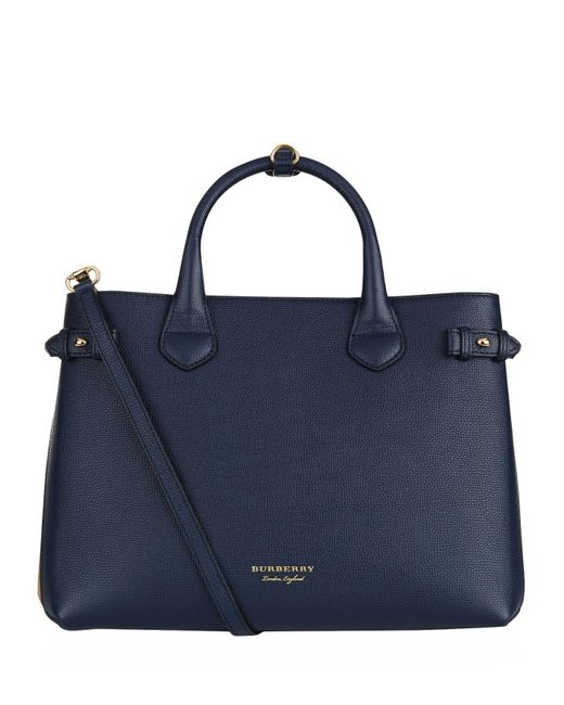 Burberry - Blue Medium Banner Bag - Lyst