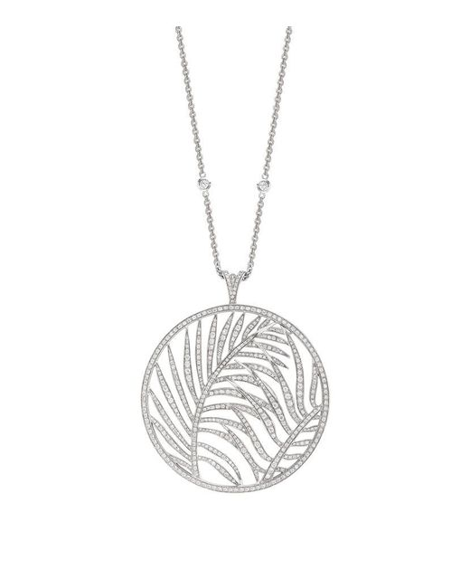 Theo Fennell | Metallic Large Palm Diamond Pendant | Lyst