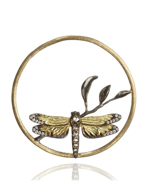 Annoushka - Metallic Hoopla Dragonfly Diamond Pendant - Lyst