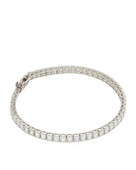 Carat* | Metallic 9.5ct Round Tennis Bracelet | Lyst