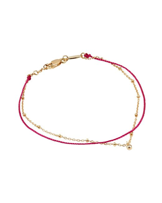 RedLine - White Honoured Double Bracelet - Lyst