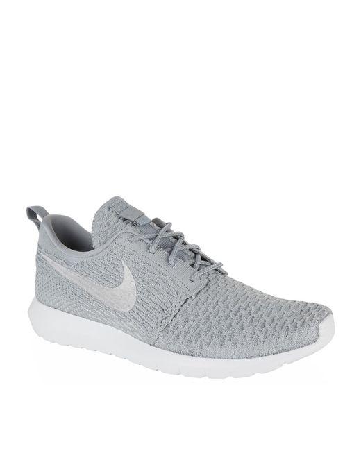 Nike | Green Flyknit 'roshe Run' Sneaker for Men | Lyst
