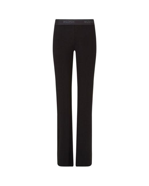 Wildfox | Black Basic Track Pants | Lyst