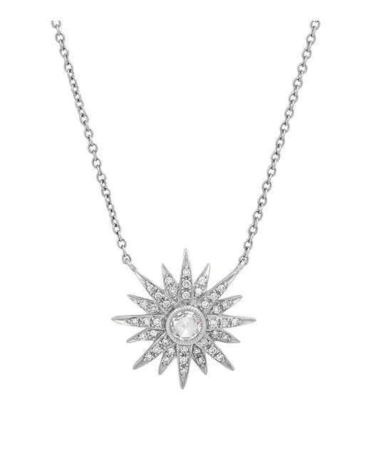 Kenza Lee - Metallic Sunburst Necklace - Lyst