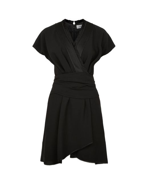 Carven | Black Short Dress | Lyst
