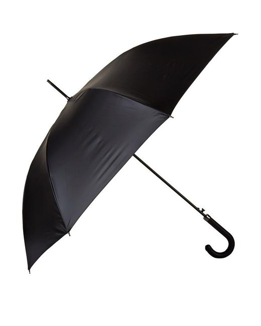 Burberry | Black Walking House Check Umbrella | Lyst