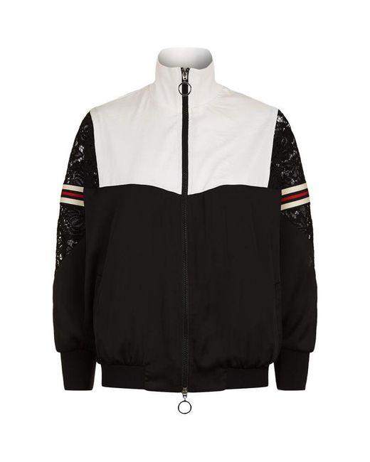 Pinko Coca Cola Zip Up Jacket In Black Lyst