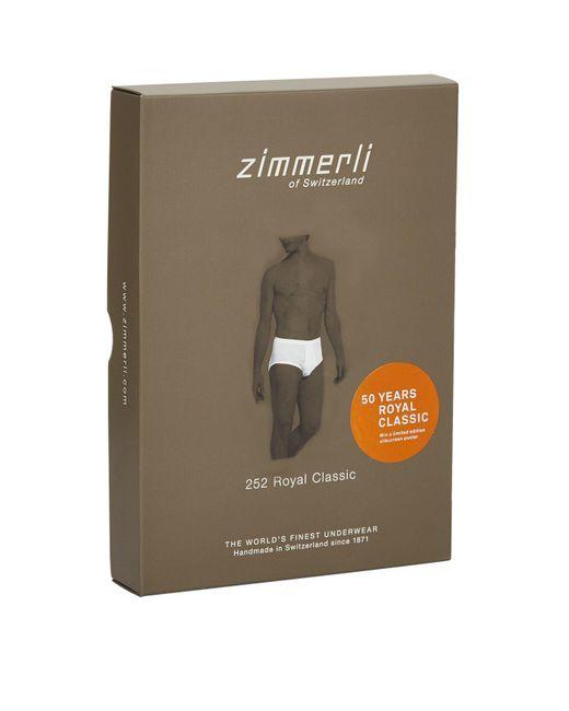 Zimmerli | White Royal Classic Briefs for Men | Lyst