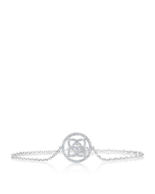 De Beers - Metallic White Gold Enchanted Lotus Openwork Bracelet - Lyst