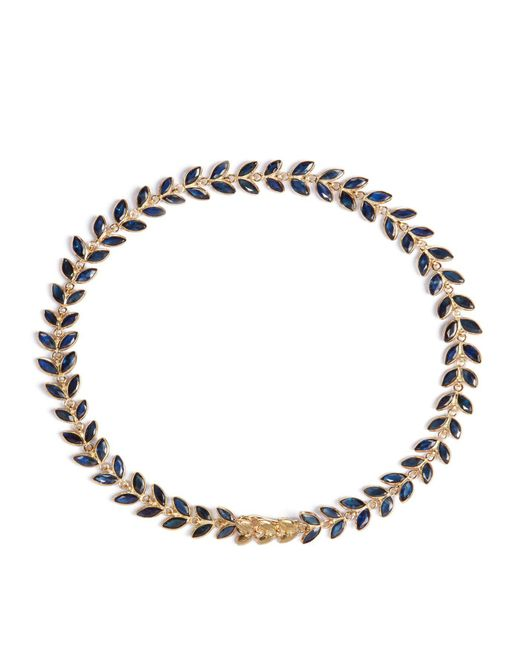 Annoushka   Metallic Sapphire Vine Bracelet   Lyst