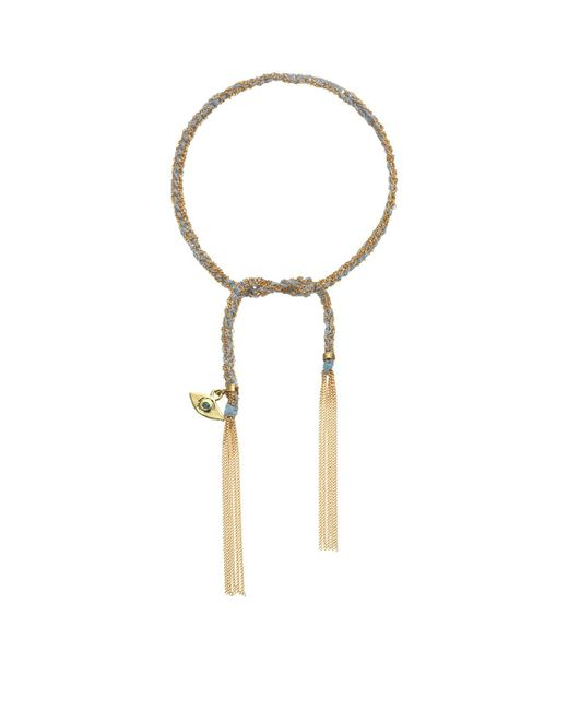 Carolina Bucci - Blue Protection Charm Lucky Bracelet - Lyst