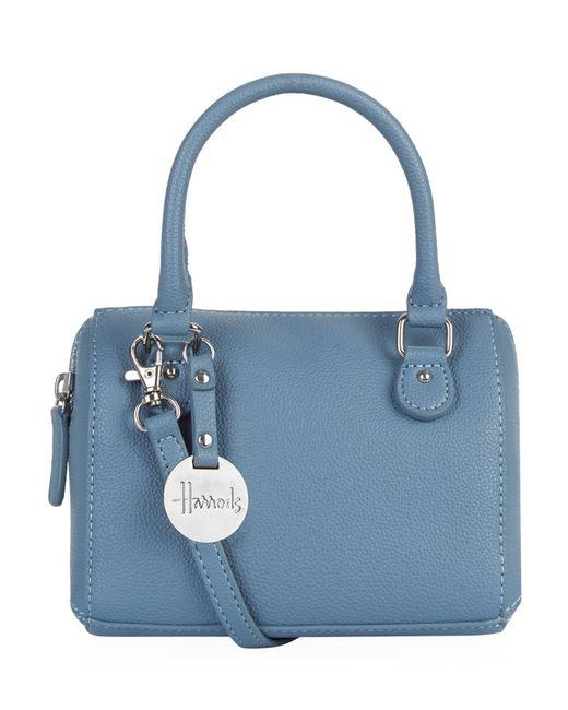 Harrods - Blue Micro Mini Barrel Bag - Lyst
