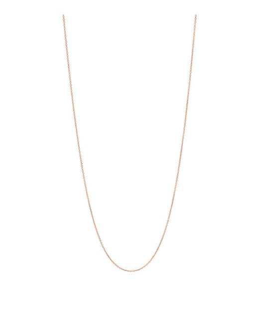 Links of London - Metallic Rose Gold Essentials Chain (60cm) - Lyst