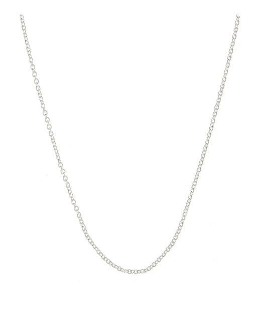Monica Vinader - Metallic Rolo Chain, Silver - Lyst