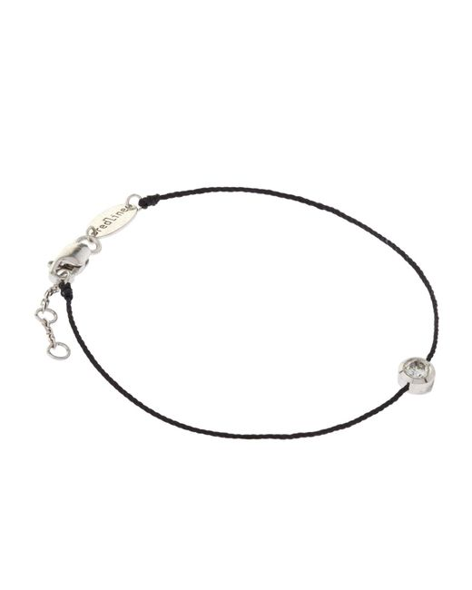 RedLine - Black So Pure Diamond Bracelet - Lyst