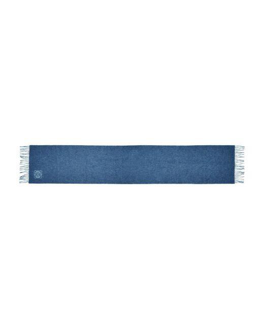 Loewe - Blue Angram Scarf - Lyst