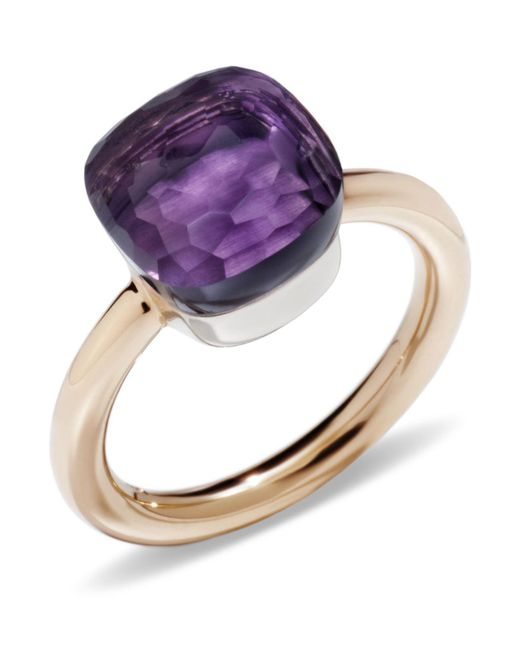 Pomellato | Pink Nudo Amethyst Classic Ring | Lyst