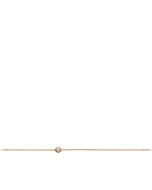 Cartier - Metallic Extra Small Pink Gold Diamants Lgers Bracelet - Lyst
