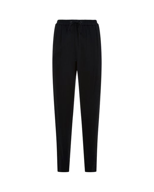 3.1 Phillip Lim - Black Tailored Sweatpant Trousers - Lyst