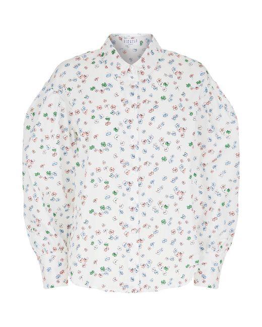 Claudie Pierlot - Multicolor Cade Printed Shirt - Lyst