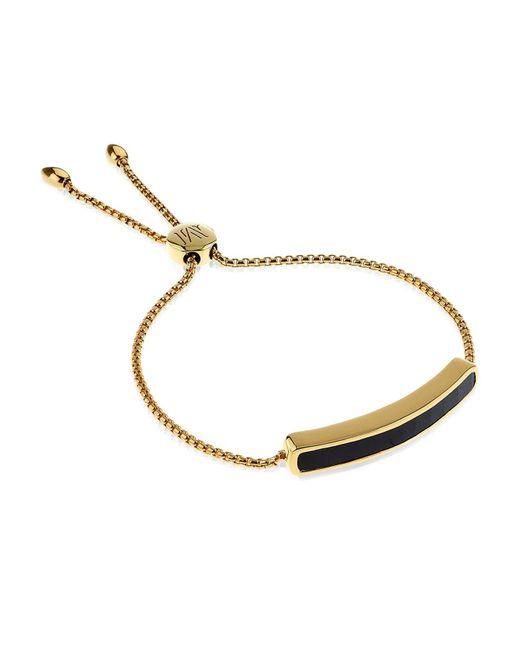 Monica Vinader - Black Baja Bracelet - Lyst