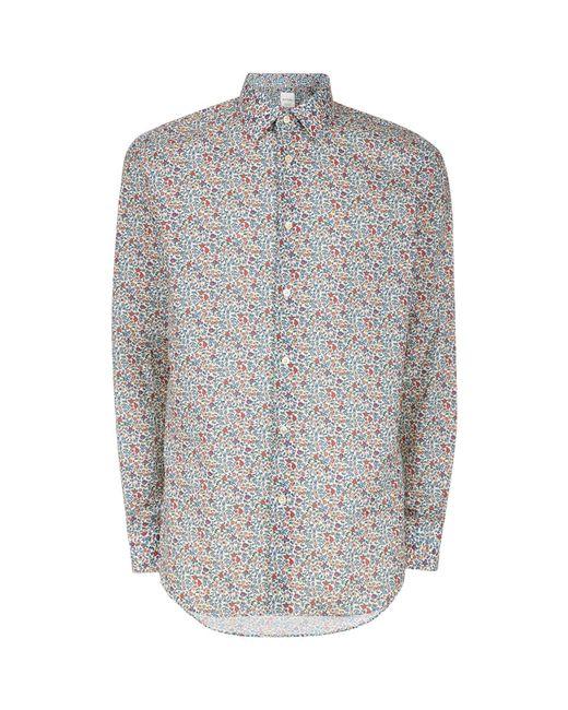 Paul Smith | Multicolor Floral Print Shirt for Men | Lyst
