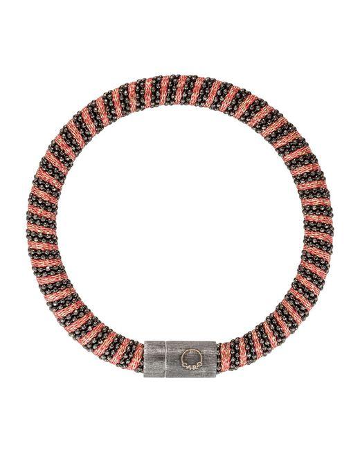 Carolina Bucci | Black Gold-plated Woven Bracelet | Lyst