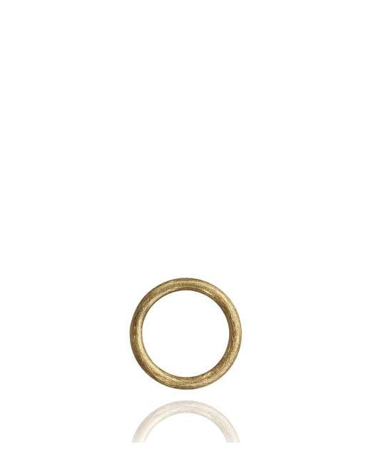 Annoushka - Metallic Hoopla Small Yellow Gold Pendant - Lyst