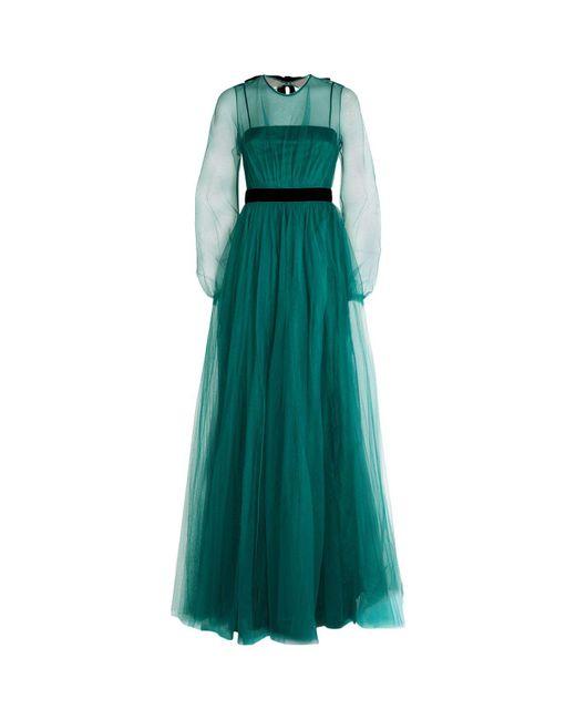 N°21 | Green Net Maxi Dress | Lyst