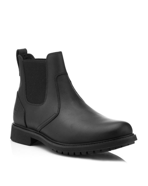 Timberland | Black Earthkeepers® Stormbuck Chelsea Boots for Men | Lyst