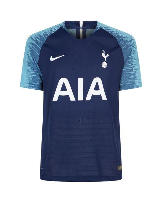 8fb762317 Nike - Blue 2018 19 Tottenham Hotspur Vapor Match Away Football Shirt for  Men -