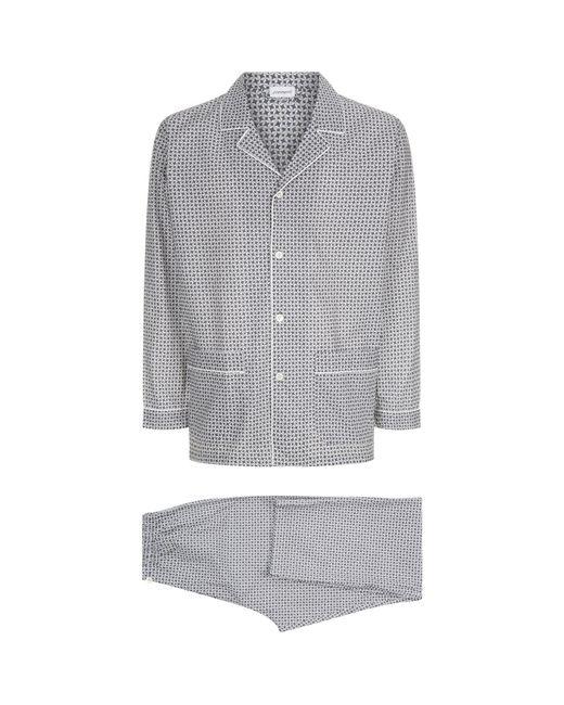 Zimmerli - Gray Cotton Pyjama Set for Men - Lyst